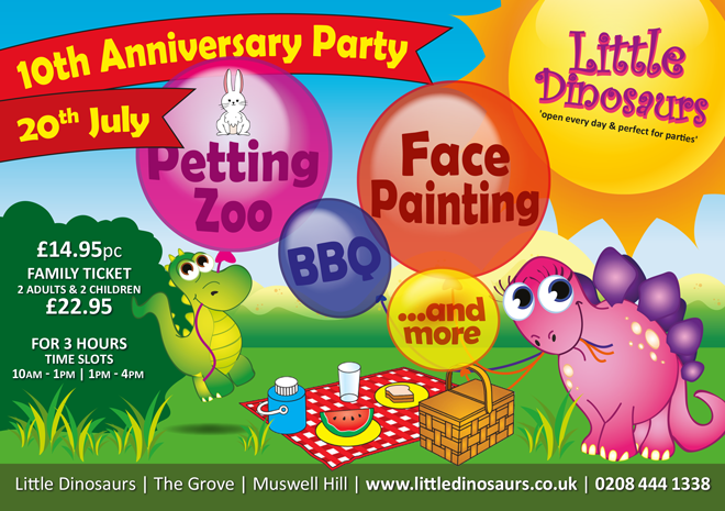 10th Anniversary Leaflet